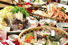 玄海灘の海鮮料理のイメージ写真