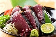 鰹・金目鯛・長太郎貝など黒潮の恵みのイメージ写真