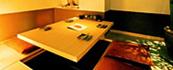 くつろぎの掘りごたつ式個室