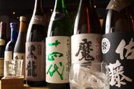 焼酎、日本酒の種類が豊富なお店のイメージ画像