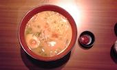 JAPANESE DINING 和民 秋田駅前店の濃厚海老味噌ラーメンの写真