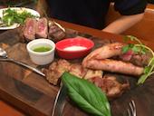 クラウドナイン CLOUD9のCLOUD9特製お肉盛り合わせの写真