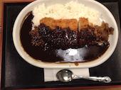 いろはにほへと 新札幌サンピアザ店のロースカツ黒カレーの写真