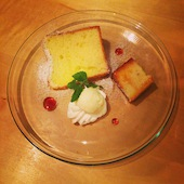 ロンブル ド アンジュのふわトロホイップ シフォンケーキの写真