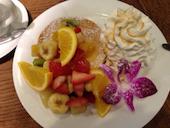 ハワイアンパンケーキファクトリー Hawaiian Pancake Factory LINKS UMEDA店のトロピカルフルーツの写真