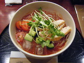 cafe SHINKAのトマトつけ麺の写真
