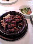 レストラン・バスクのお昼のコースの写真