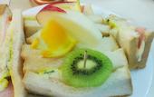 画廊喫茶ミロのサンドイッチセットの写真