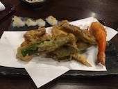 手打ち蕎亭 なる堵の天ぷらの盛り合せの写真