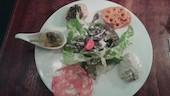 ルーナプレヌのB オードブル5種・スープ・パスタorメイン・デザート飲み物の写真