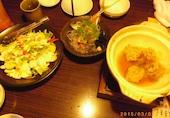 花の舞 稲毛海岸店の紅ズワイガニのシーザーサラダの写真