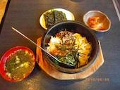 幸楽 軽井沢の石焼ビビンバよくばりセットの写真