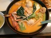 桂花飯店の海鮮ラーメンの写真