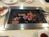 ウエスタン 平岸店の豚バラ(塩)/豚肩ロース(塩)/豚ホルモン(塩味・味噌)の写真