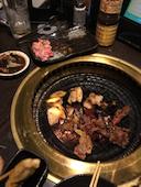 甘太郎 南平岸駅前店の中落ちカルビ スタミナ石焼きの写真