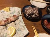 室蘭やきとりのTenの豚精肉の写真