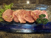 石焼黒毛和牛焼肉 きかんわの塩特上ハラミの写真