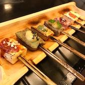 豆腐と生麩の田楽