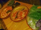 最中×monaka 熊本 下通のあそび豚のしゃぶしゃぶサラダの写真