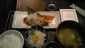 ひもの屋 渋谷 東急本店前の本日の日替わり定食の写真