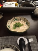 チャイナダイニング6 リゥの白い麻婆豆腐の写真