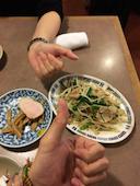天壇 札幌のもやし炒めの写真