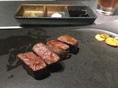 鉄板焼き専門店 月のしずくの九州銘牛最高級フィレの鉄板焼き(30g~)の写真