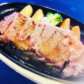レストラン ティアラ Tiaraのビーフサーロインステーキの写真