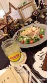 ジューシー Juicy 岡山の生ハムシーザーサラダの写真