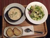 キタバル KiTA-BAL 札幌駅東口店の北あかりニョッキと根菜のクリームシチューランチの写真