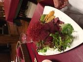 主人が食べたローストビーフでライスを包んだ レッドマウンテン 火山