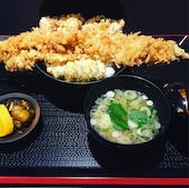 中村庵の穴子丼セットの写真