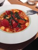 プルメリアカフェ Plumeria Cafeのモッツァレラチーズとトマトのカプレーゼ風パスタの写真