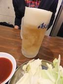 立川焼肉酒場 すみびやのスーパードライ(生)の写真