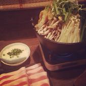ありったけの新潟県産もち豚のとろろ鍋の写真