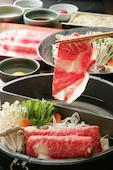 しゃぶしゃぶ 牛禅 札幌すすきの店の黒毛和牛食べ放題(120分)の写真