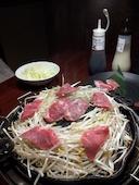 ジンギスカン霧島 御徒町店の特上生ラム肉の写真