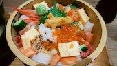 小樽海鮮丼エンの海鮮ひつまぶしの写真