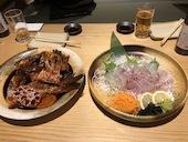 ジャンボ釣船 つり吉の鯛 (半身ずつ調理方法をお選びいただけます)の写真