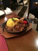 イタリアンバル アクア 上野公園前店のハッシュドビーフ(ターメリックライス)ランチは下記の食べ放題付きとなります。 (平日/土・日・祝日)の写真