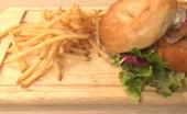 ダンボ ピザ ファクトリー DUMBO PIZZA FACTORY エスパル仙台の[SANDWICH]本日のベーグルサンド の写真