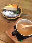 カフェ きたむらのチーズケーキの写真