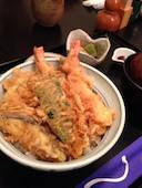 浜田屋 武蔵小山のお昼の天丼の写真