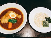 札幌らっきょの知床鶏スープカレー 北海道産の写真