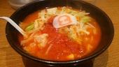 8番らーめん 福井駅店の野菜らーめん(太麺)の写真