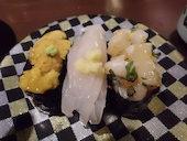 グルメ回転寿司 函太郎 五稜郭公園店のウニの写真