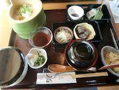 嵯峨とうふ 稲 嵐山の手桶くみあげ湯葉御膳の写真