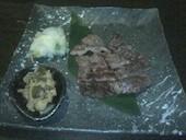 串陣 拝島店の炭焼き 仙台名物 牛タンの写真
