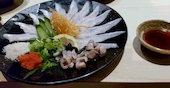 つなぎ 姫路 TSUNAGIの伝助穴子のお造りの写真