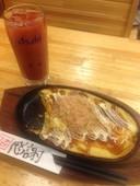 海鮮屋 魚吉 光の森店の山芋お好み焼きの写真